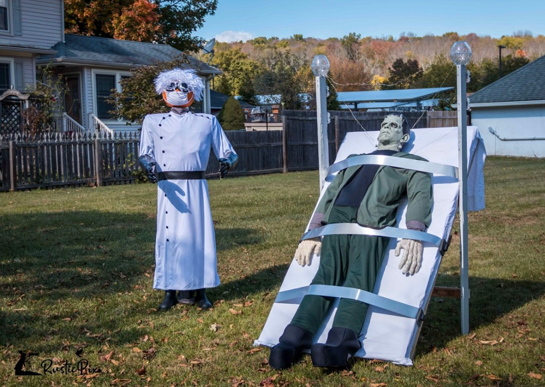 scarecrow decorating ideas frankenstein