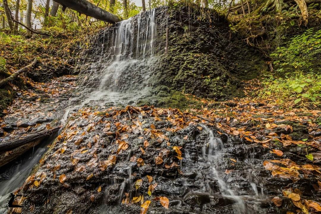 raymondskill falls autumn 2017