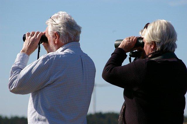 binoculars retired