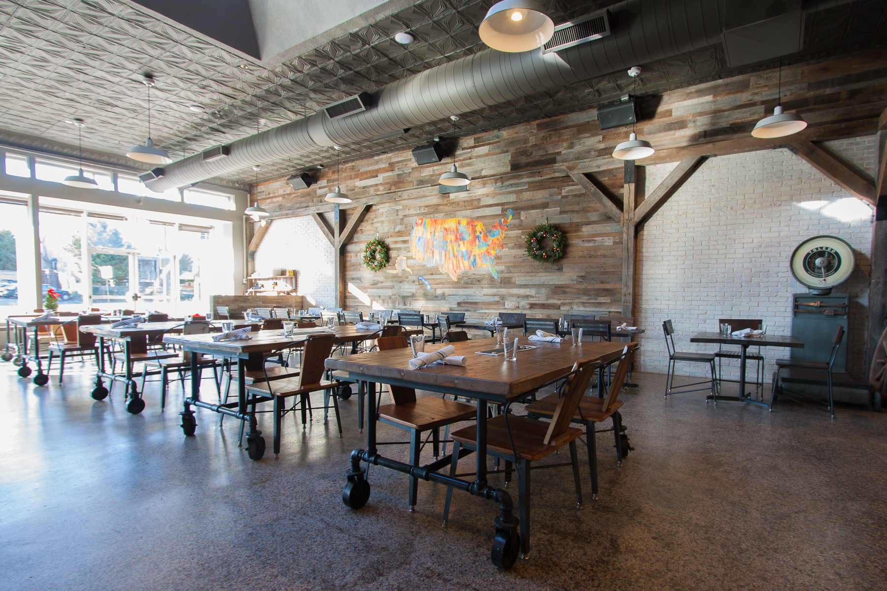 rustic restaurant furniture home