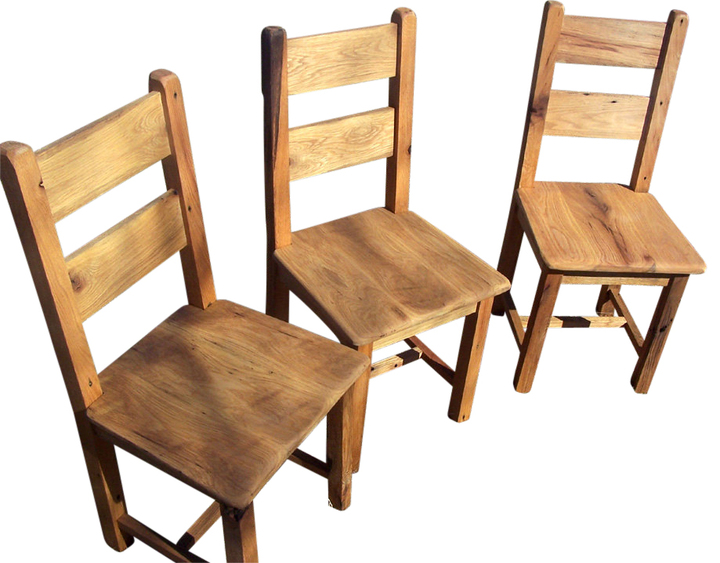 oak farmhouse chairs cozy reading chair reclaimed antique dining rustic restaurant