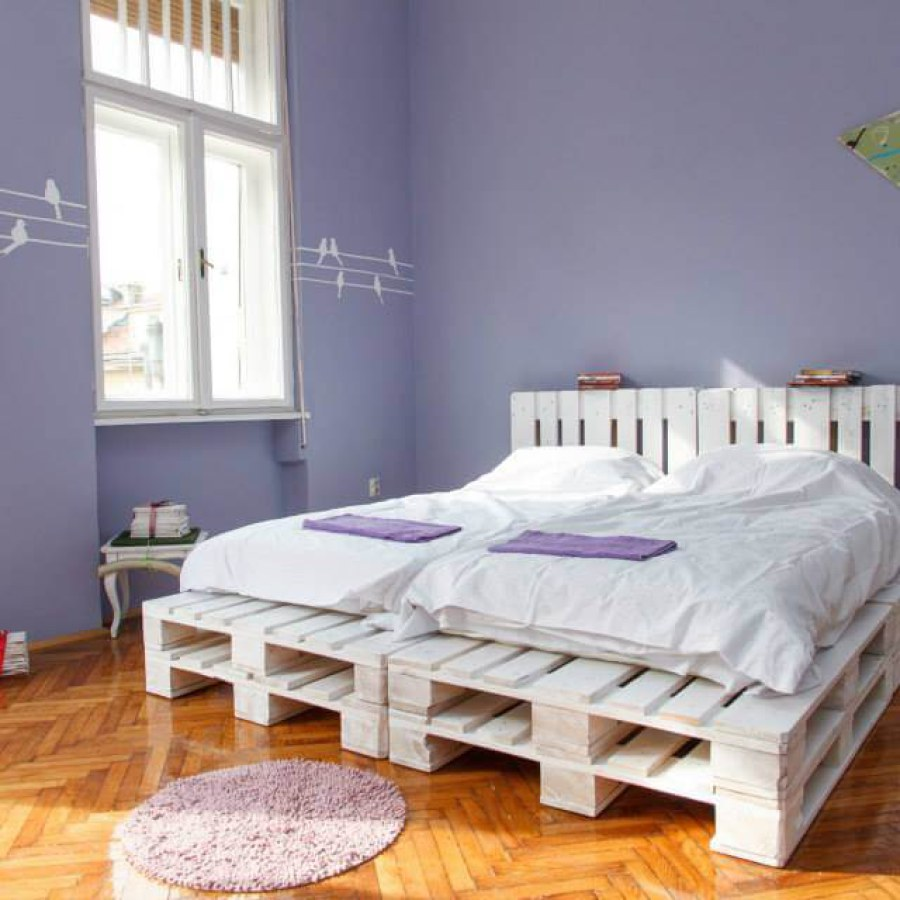 Pallet Bedroom Furniture  Rustic Style Magazine