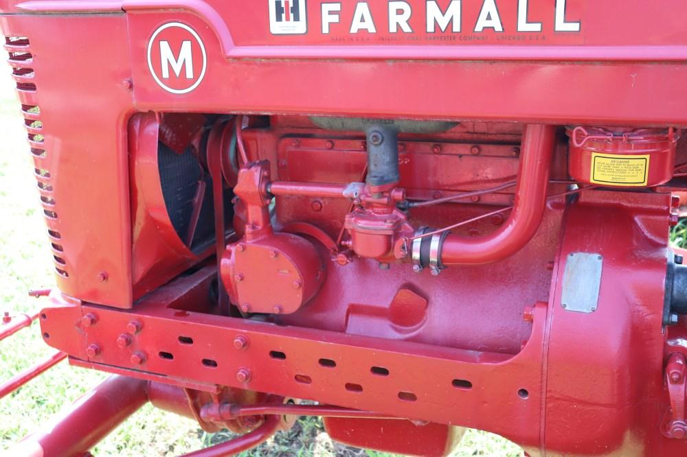 medium resolution of farmall m fully restored tractor