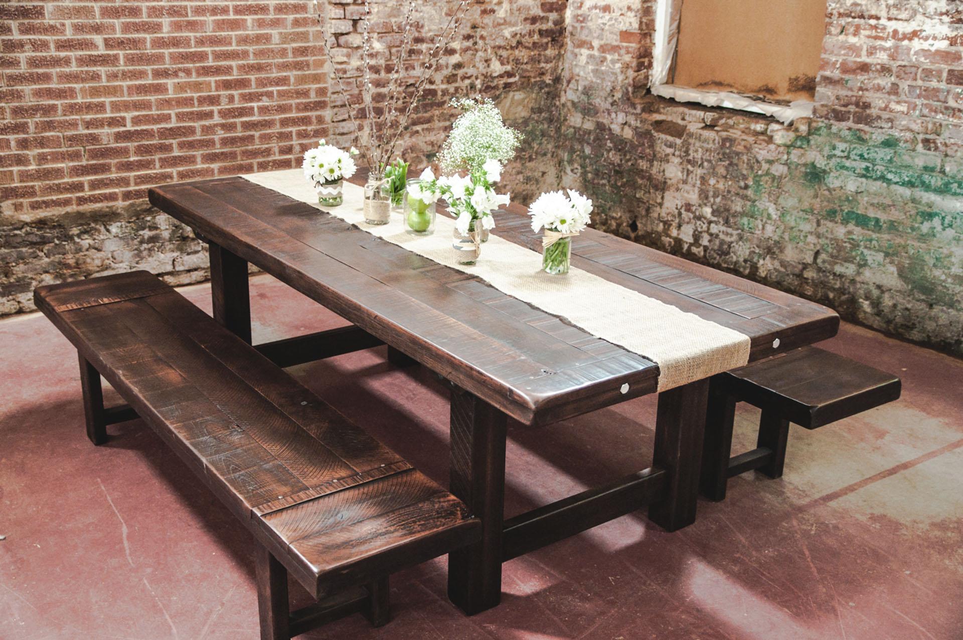 Clayton  Custom Farm table  Luxury Dining Table