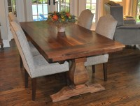 Rustic Weston Trestle Farmhouse Table | Atlanta GA Denver ...