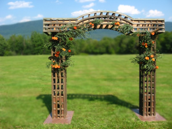Country Garden Wedding Arbors
