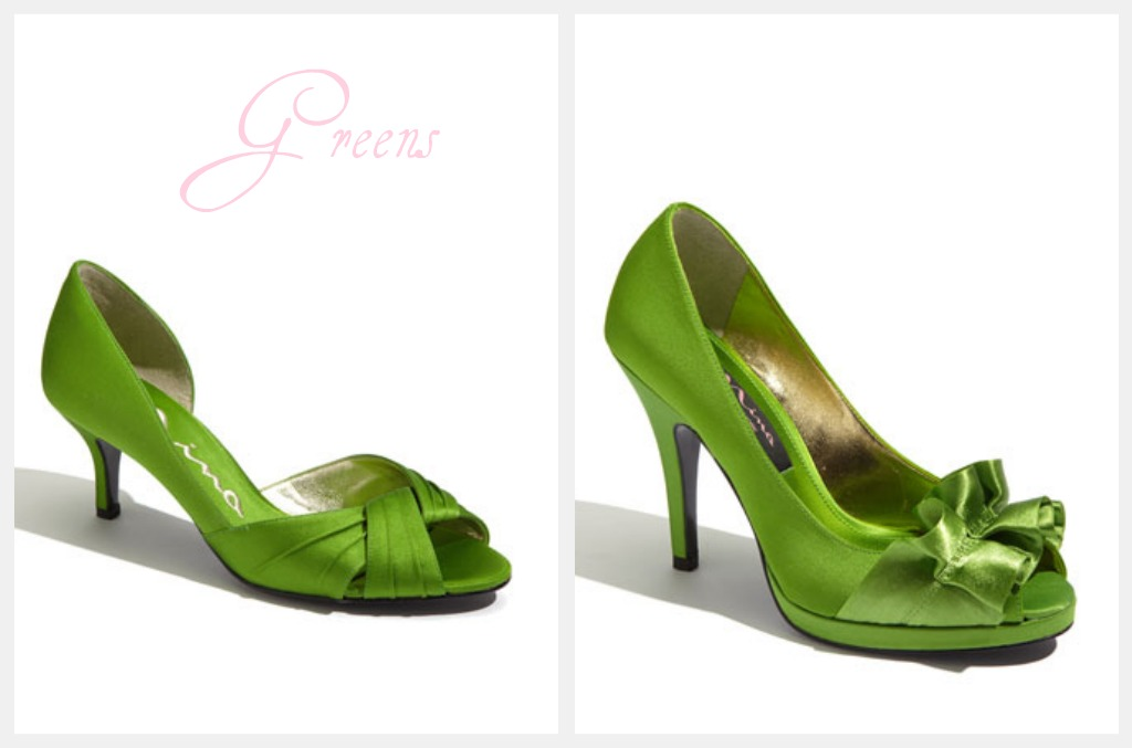 Colored High Heels For Your Wedding  Rustic Wedding Chic