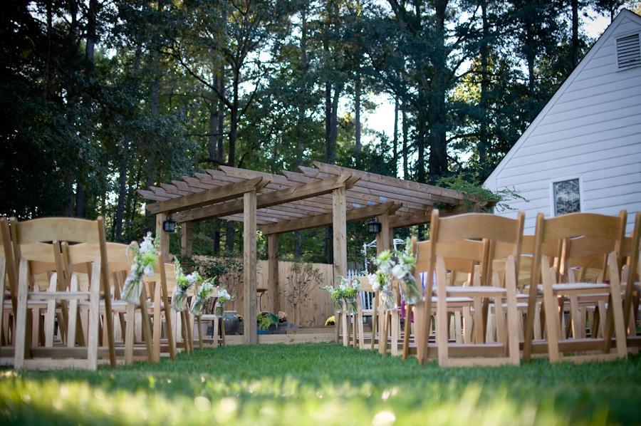 Virginia Backyard Rustic Chic Wedding