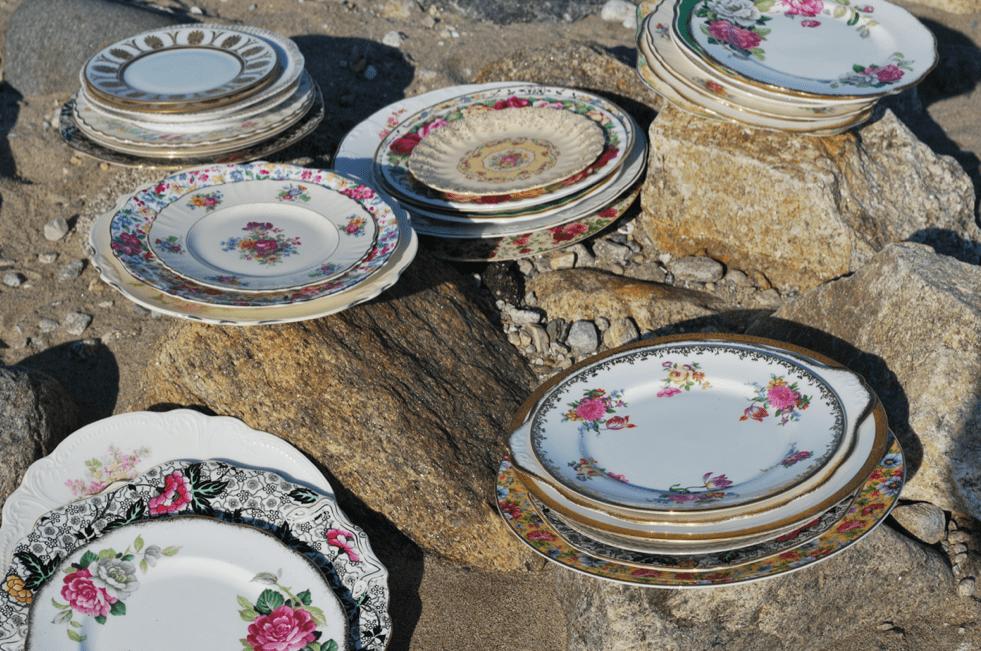 Vintage China Used At Weddings
