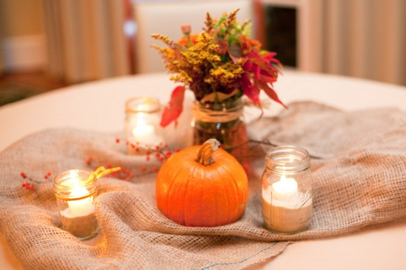 Pumpkin Wedding Decorations  Rustic Wedding Chic