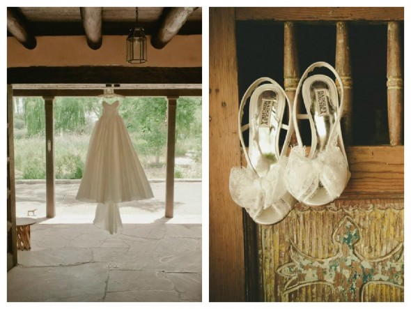 New Mexico Rustic Style Wedding