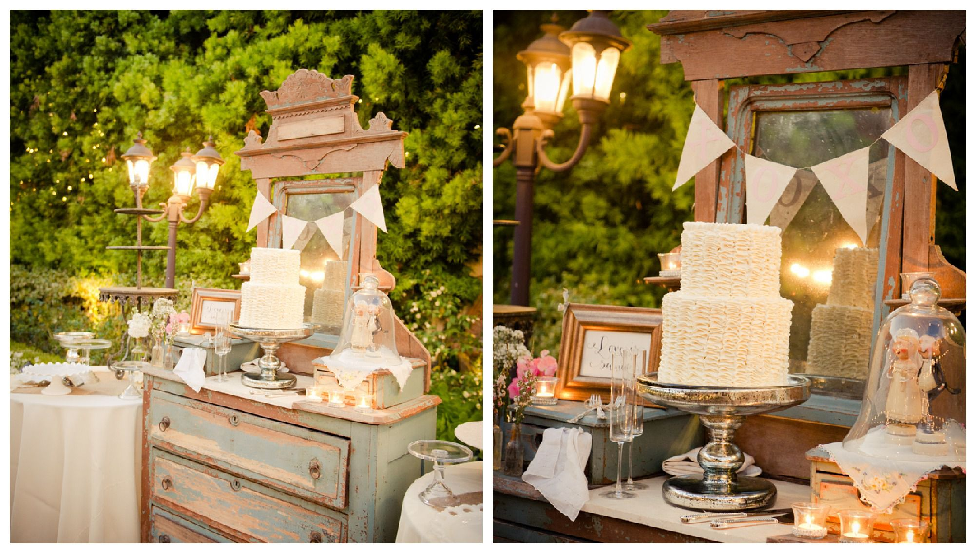 A Country & Vintage Style Wedding