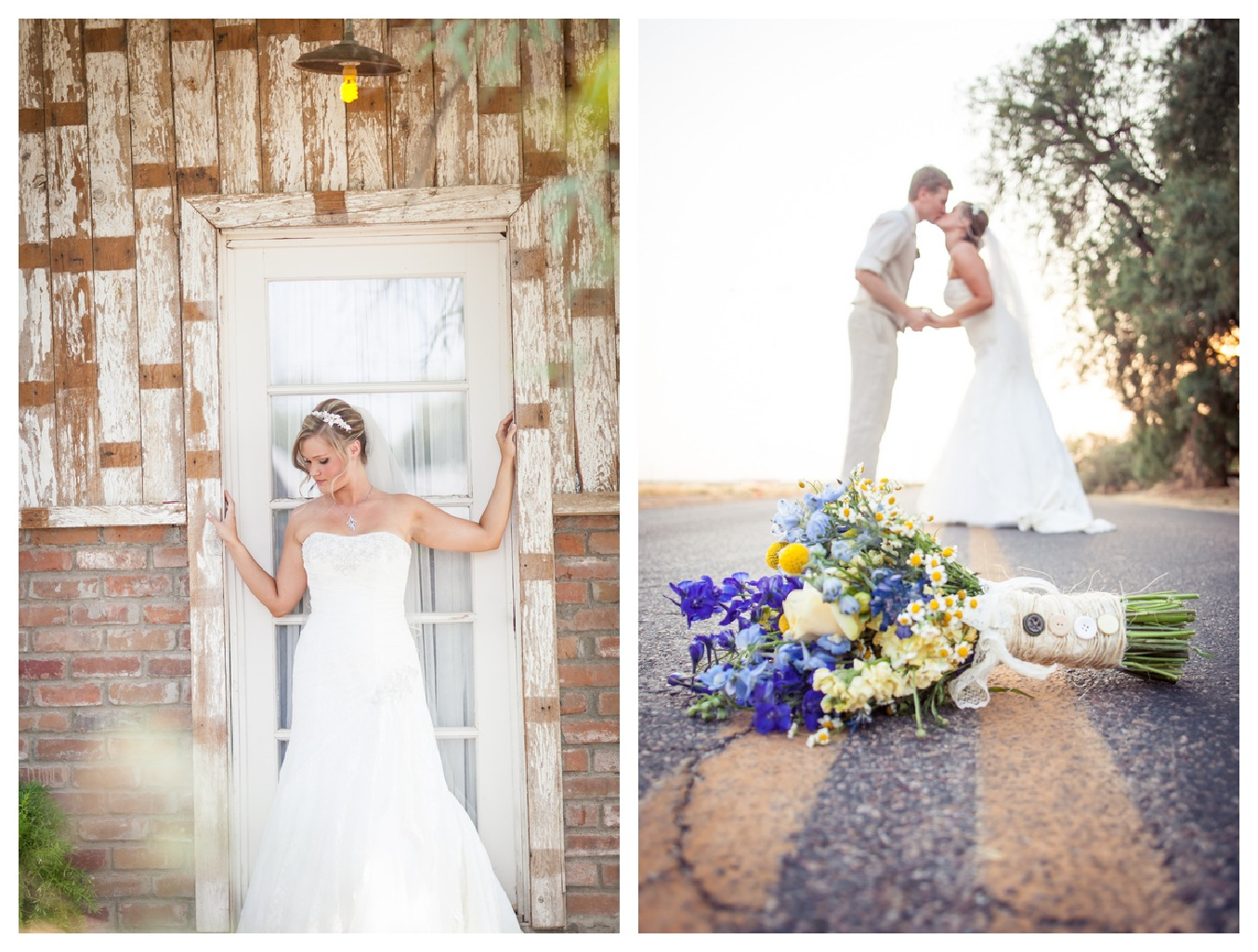 Arizona Country Wedding At The Windmill Winery  Rustic
