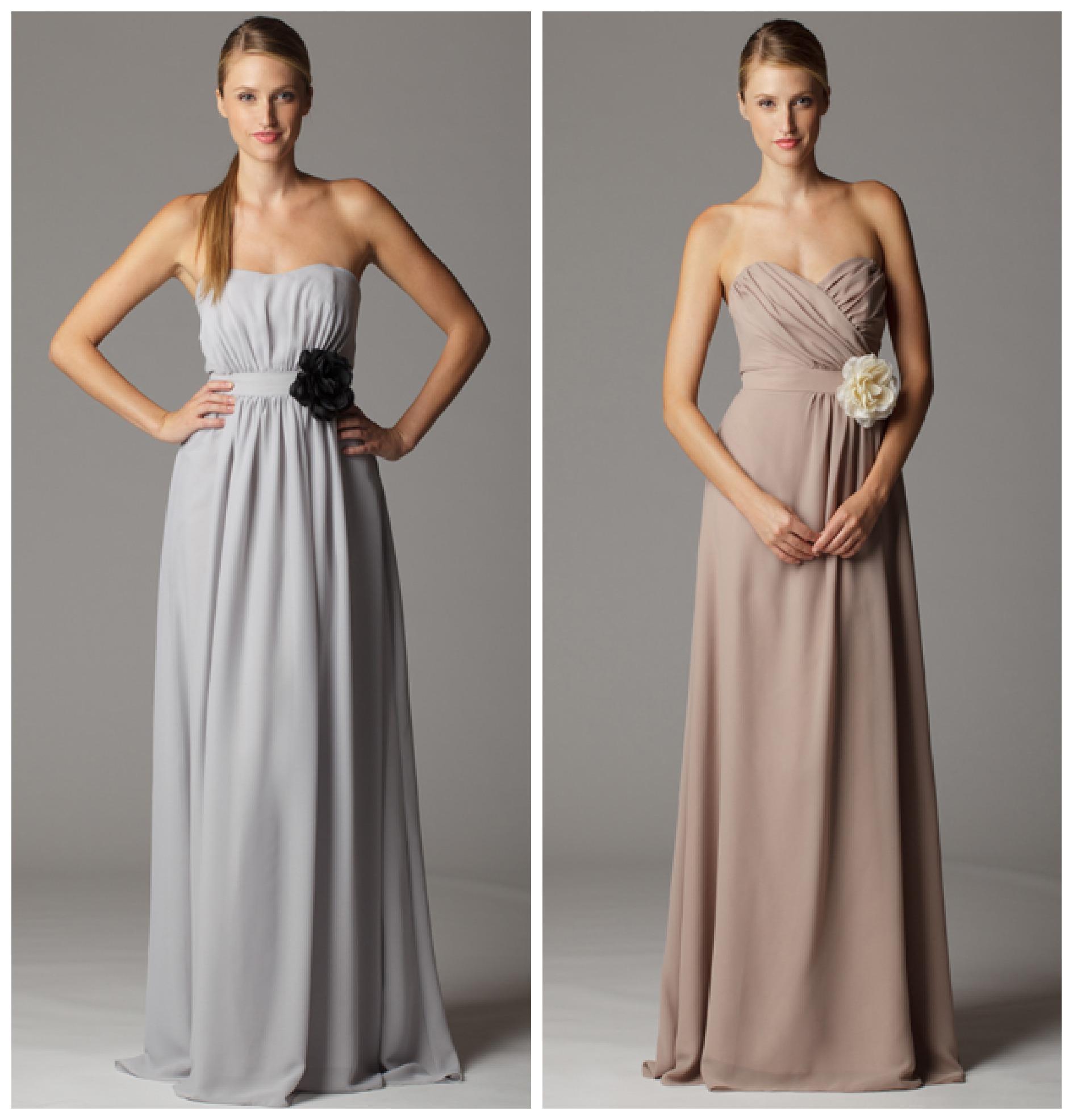 Soft & Flowy Bridesmaid Dresses