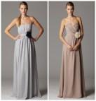 Soft Color Bridesmaid Dress