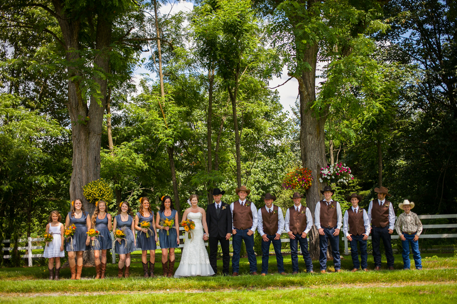 Washington State Country Barn Wedding