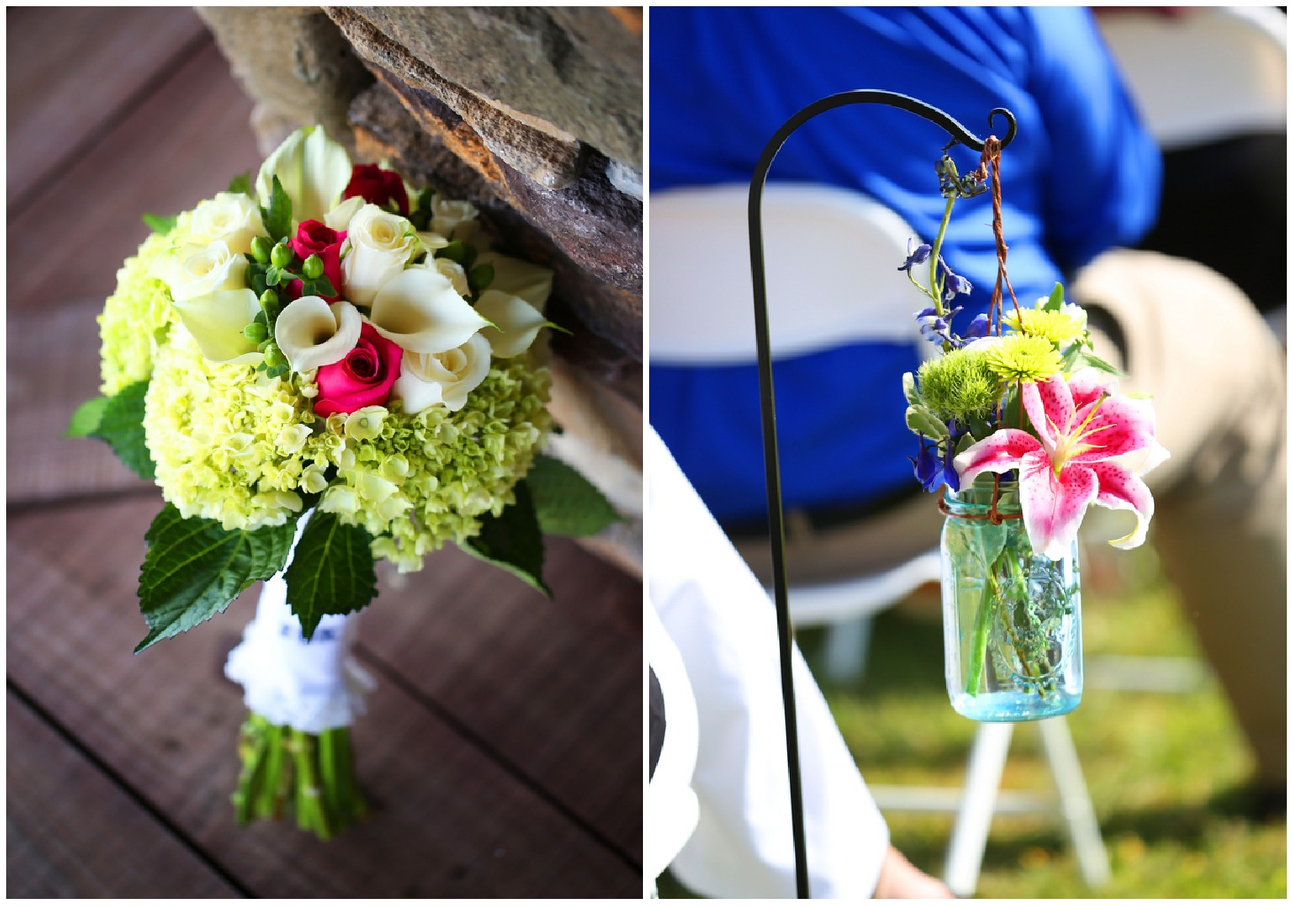 Blue & Pink Wedding Theme