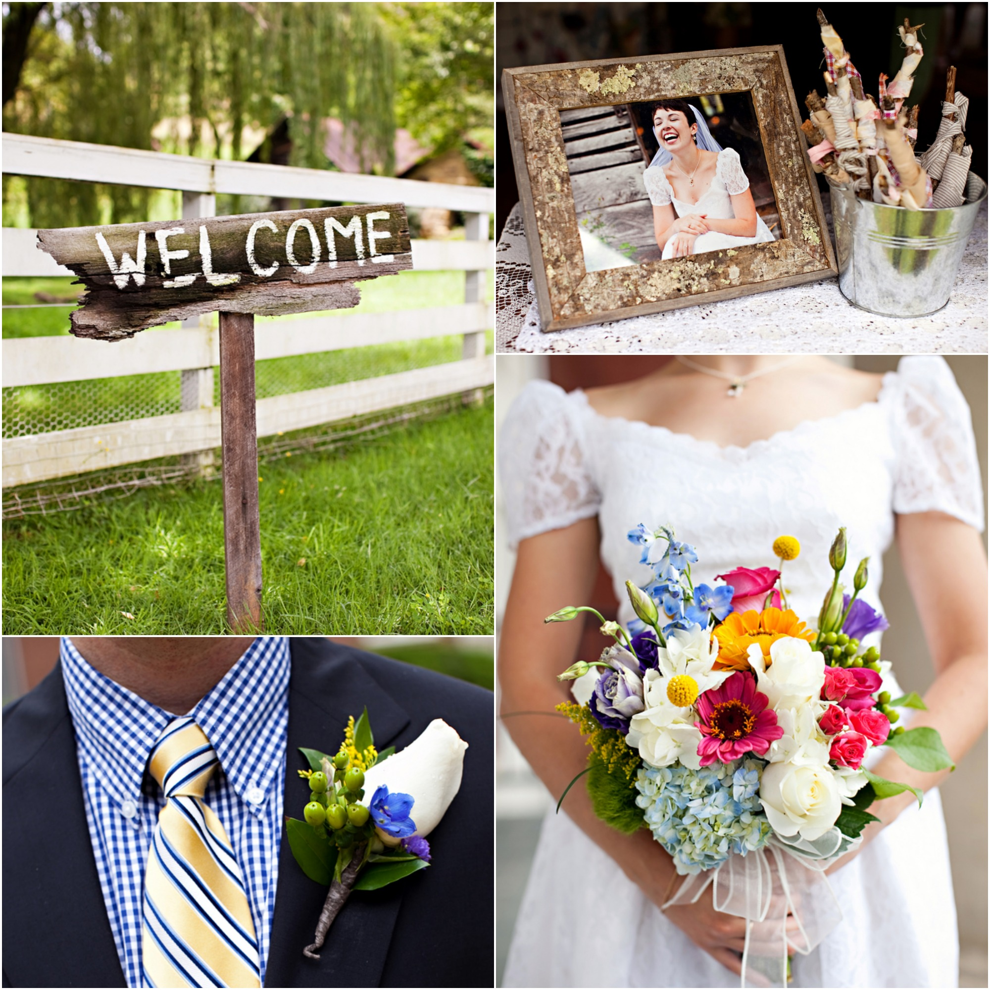 Wedding At Apple Hills Farm North Carolina  Rustic Wedding Chic