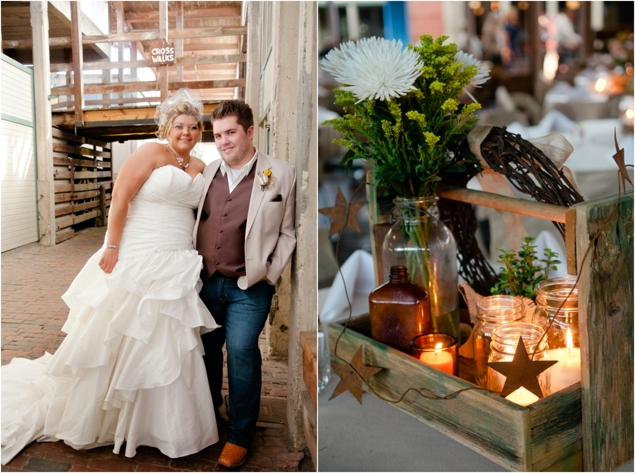 Texas Country Wedding With Vintage Decorations  Rustic Wedding Chic