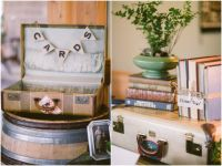 Using Vintage Suitcases in Your Rustic Wedding - Rustic ...