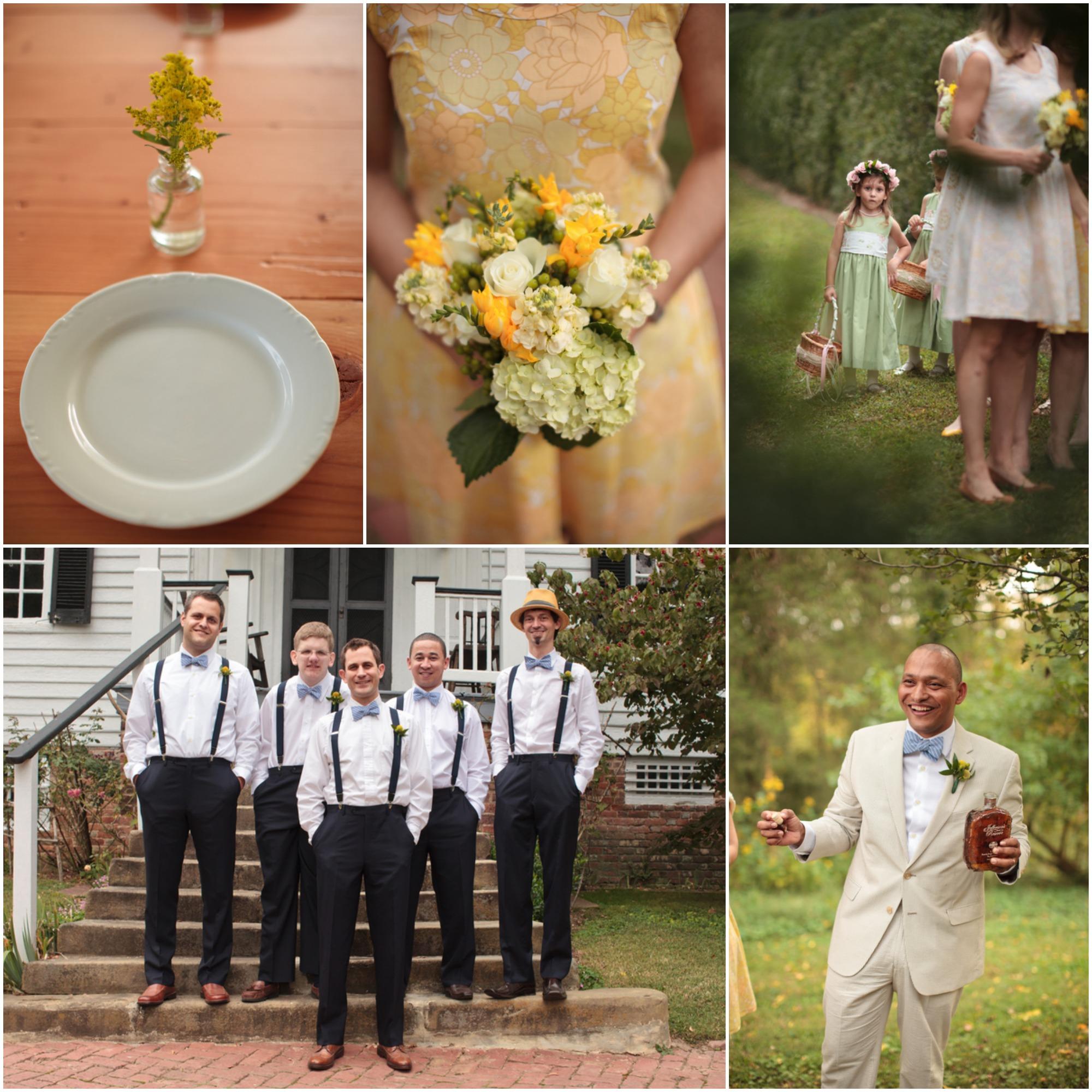 Virginia Farm Wedding At Tuckahoe Plantation  Rustic