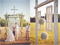Burlap Inspired Country Wedding: Trudie + Robbie - Rustic ...