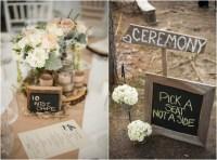 Eco-Friendly Woodsy Rustic Wedding - Rustic Wedding Chic