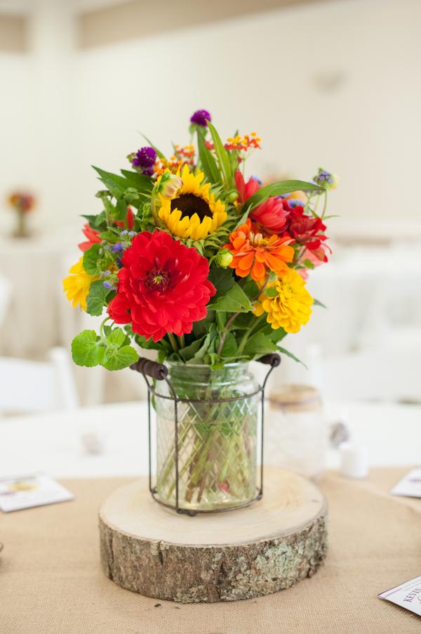 Sunflower Farm Wedding  Rustic Wedding Chic