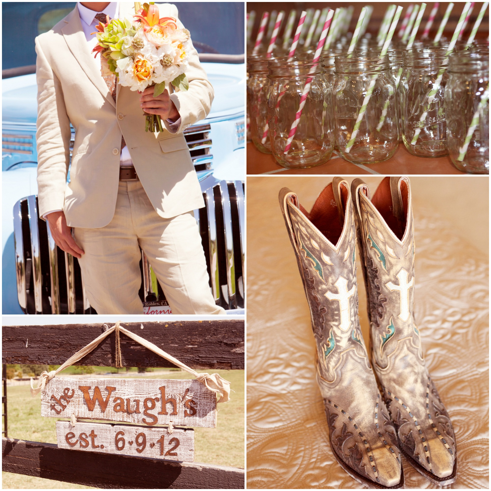 California Wine Country Barn Wedding  Rustic Wedding Chic