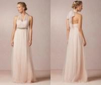 Blush Bridesmaid Dresses - Rustic Wedding Chic