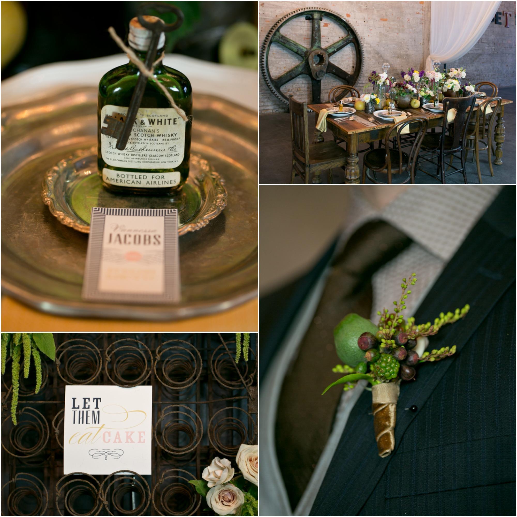 Steampunk Wedding Inspiration  Rustic Wedding Chic