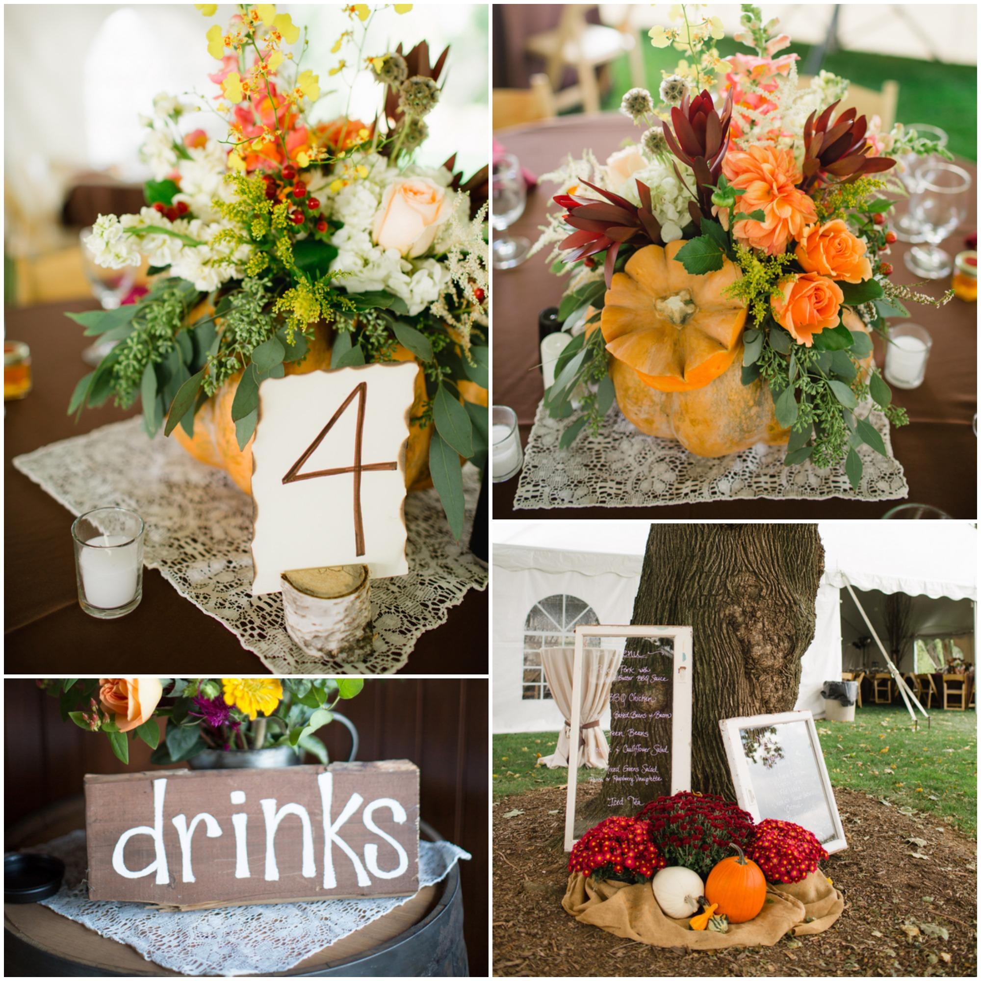 Fall Inspired Rustic Wedding  Rustic Wedding Chic