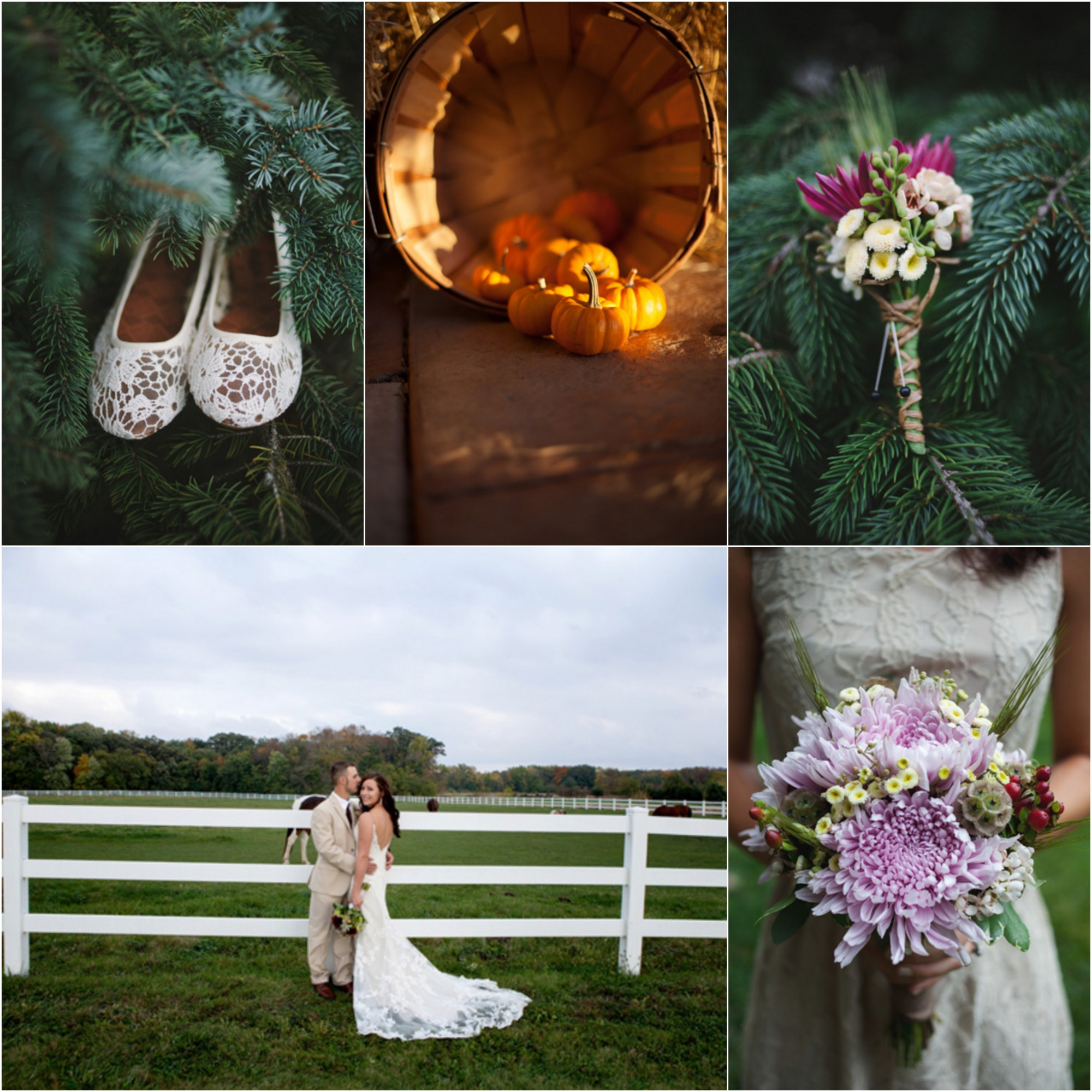 Autumn Country Farm Wedding  Rustic Wedding Chic