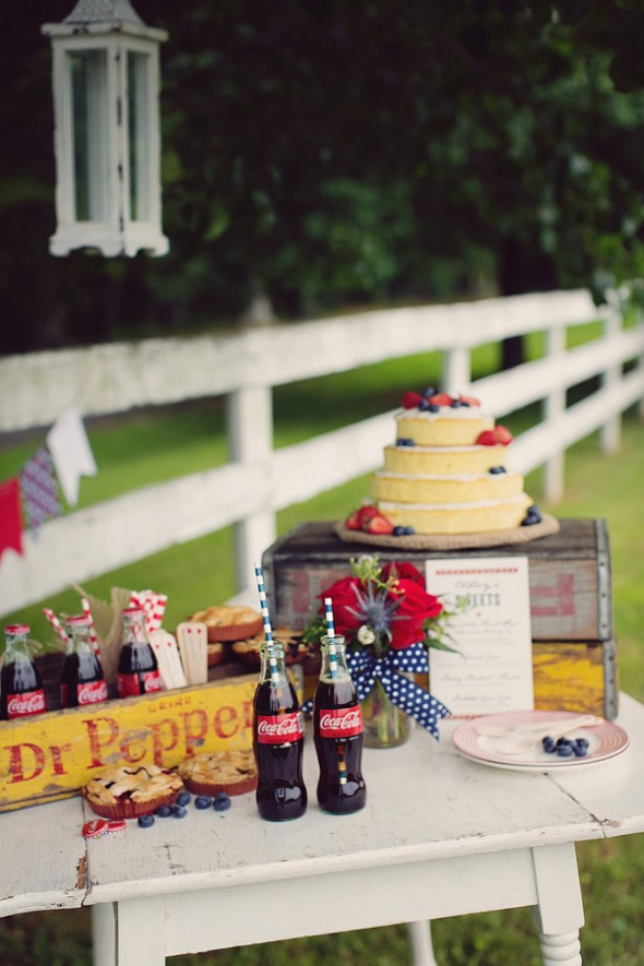 Americana Themed Wedding- Red, White, and Blue: a Fourth of July Wedding on Earlyivy.com