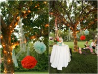 Bright and Colorful Backyard Wedding - Rustic Wedding Chic