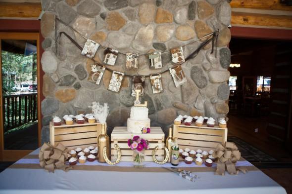 Rustic Mountain Lodge Wedding  Rustic Wedding Chic