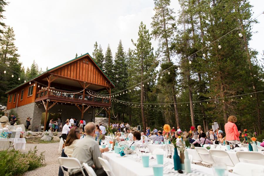 California Cabin Wedding  Rustic Wedding Chic