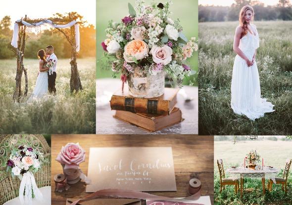 Earthy & Elegant Wedding Inspiration