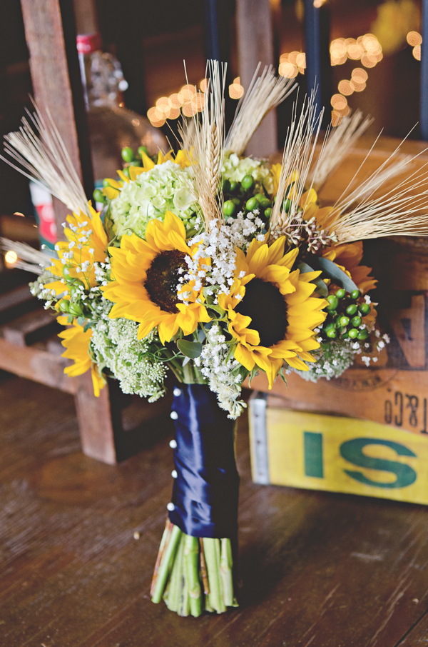 Country Sunflower Wedding  Rustic Wedding Chic