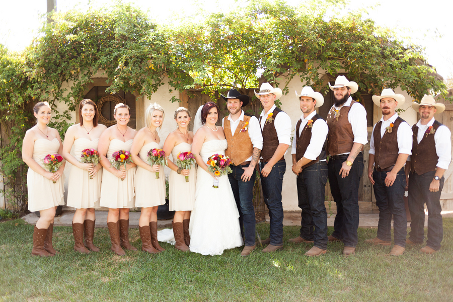 Country Western Style Wedding  Rustic Wedding Chic