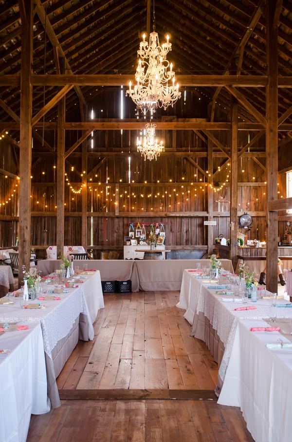 Vintage DIY Inspired Barn Wedding  Rustic Wedding Chic