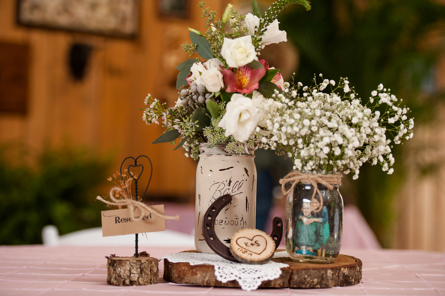 Country Florida Barn Wedding