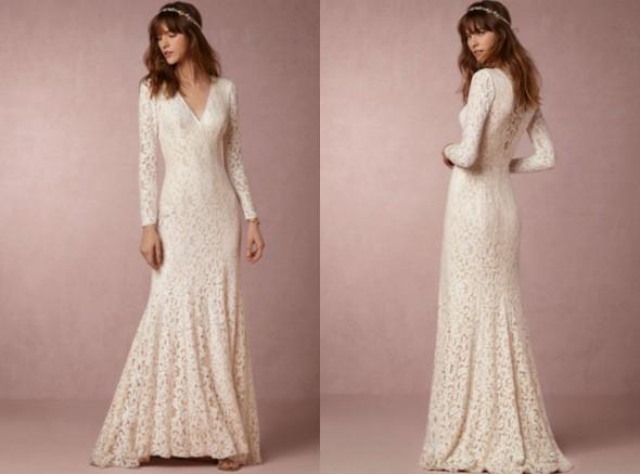7 Wedding Dresses Perfect For A Barn Wedding