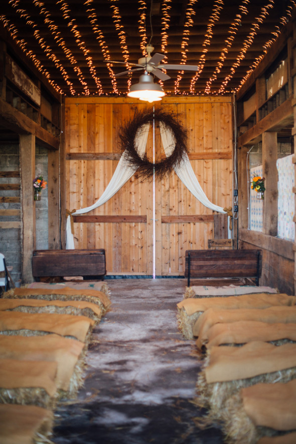 Fall Country Barn Wedding  Rustic Wedding Chic
