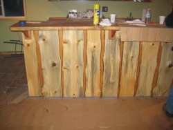 Blue pine used for wainscotting