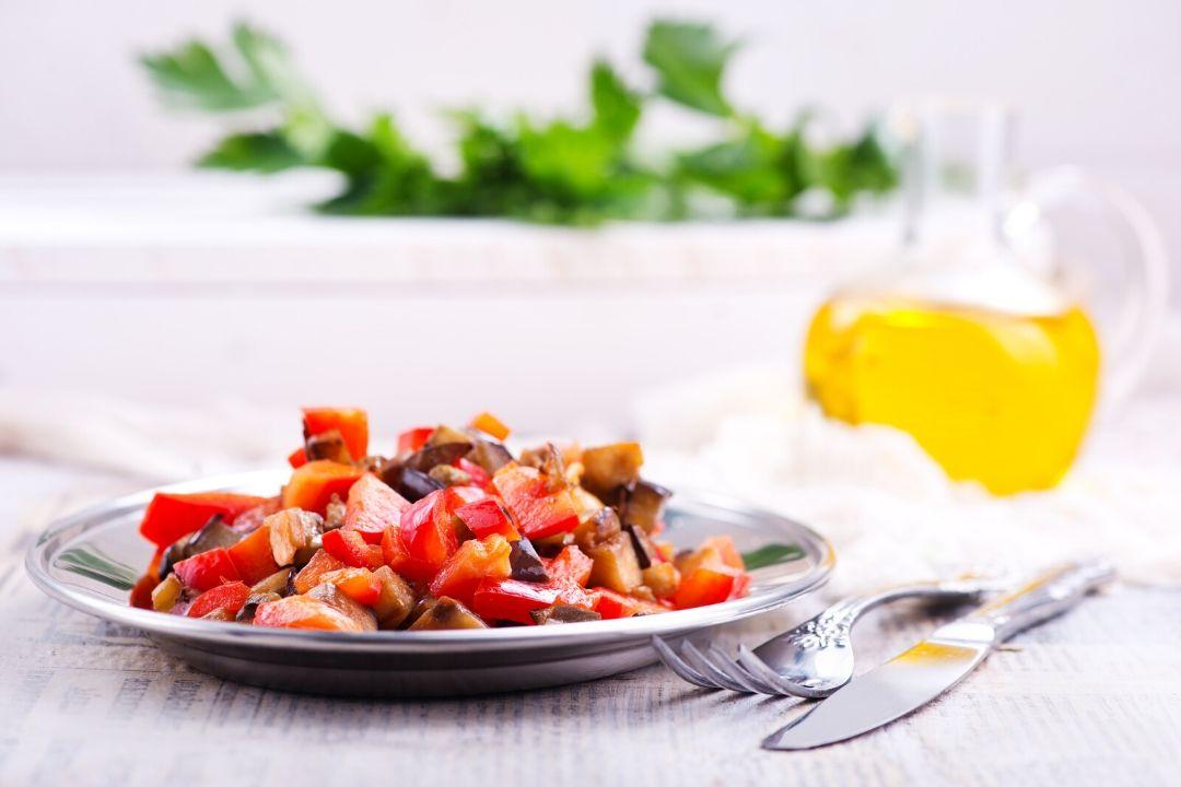 салат мангал