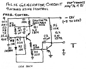 2012-12-31 Pulse Generator Circuit