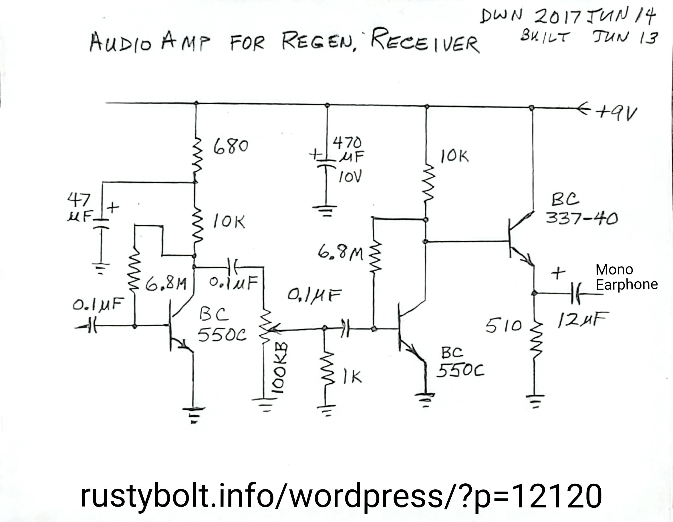 Resistor Base Bc548