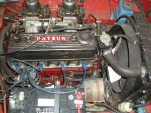 1966 Datsun Roadster engine
