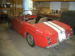 1966 Datsun Roadster rear